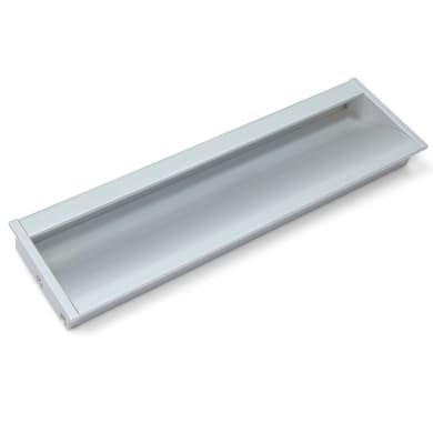 Maniglia per mobile in alluminio anodizzato EMUCA interasse 160 mm