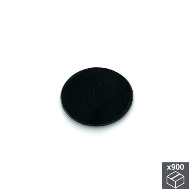 Coprivite Tondo in plastica nero 900 pezzi