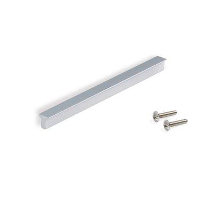 Maniglia per mobile in alluminio anodizzato EMUCA interasse 180 mm