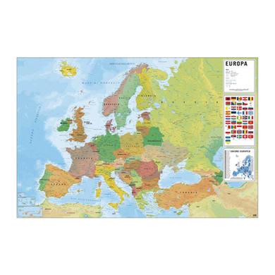 Poster Poster 61x91,5 Mappa Europa 61x91.5 cm