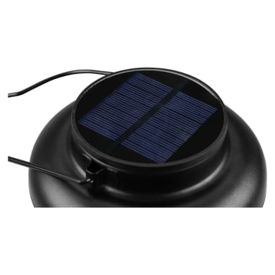 Lampada solare Arbol , in acciaio, luce bianco caldo , 30LM IP44 INSPIRE