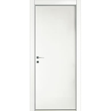Porta a battente Oxford bianco laccato L 70 x H 210 cm reversibile