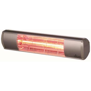 Riscaldamento per esterni NIKLAS Termopatio infrarossi grigio / argento 2000 W