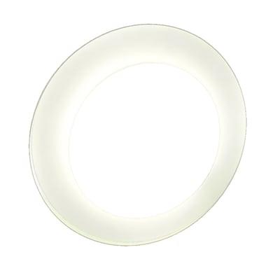Specchio con illuminazione integrata bagno rotondo L 13 x H 13 cm