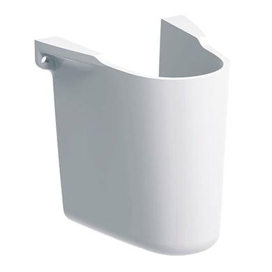 Colonna per lavabo selnova H 32 cm in ceramica bianco