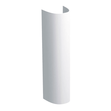 Colonna per lavabo selnova H 71 cm in ceramica bianco