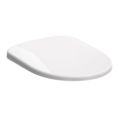 Copriwater ovale Originale per serie sanitari Sedile Selnova con cerniere in plastica duroplast bianco