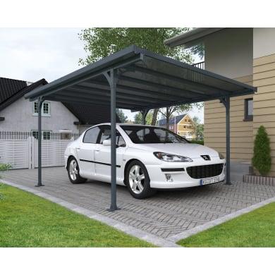 Carport in alluminio Verona L 299  x P 504  x H 217