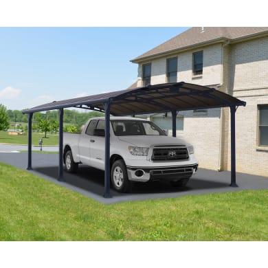Carport in alluminio Arcadia L 359  x P 649  x H 242