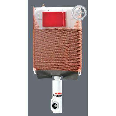 Cassetta wc a incasso pulsante doppio comando 9 L