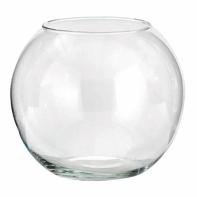 Vaso in vetro H 20 cm Ø 20 cm