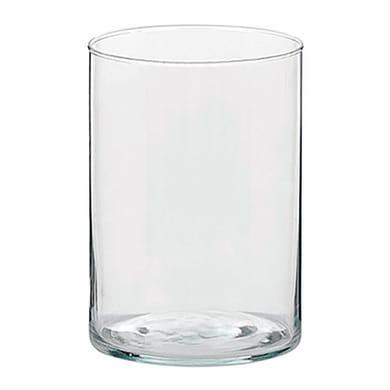 Vaso in vetro H 12 cm Ø 12 cm