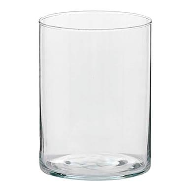 Vaso in vetro H 30 cm Ø 15 cm