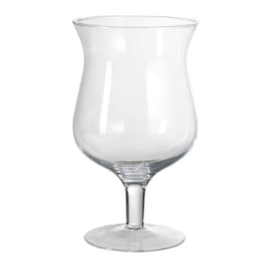 Vaso in vetro H 30 cm Ø 26 cm
