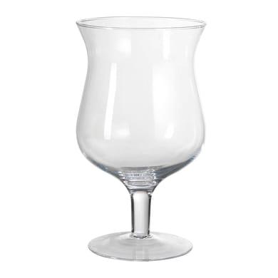 Vaso in vetro H 30 cm Ø 20 cm