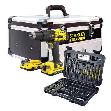 Trapano avvitatore a batteria STANLEY FATMAX 18 V, 2 Ah, 2 batterie