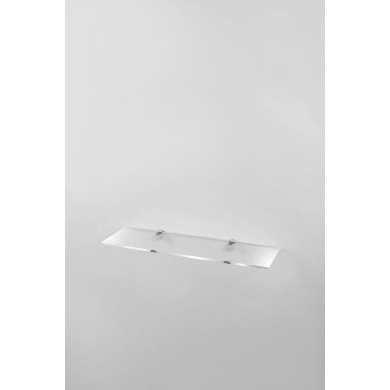 Mensola L 59.5 x P 16.5 cm, Sp 0.8 cm trasparente