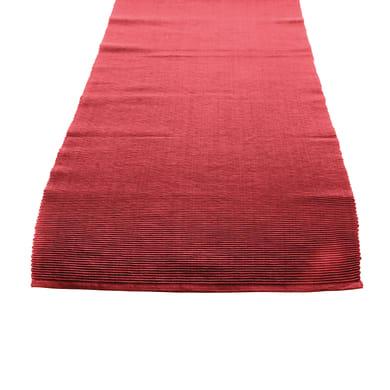 Runner da tavolo Greta rosso 45x130 cm