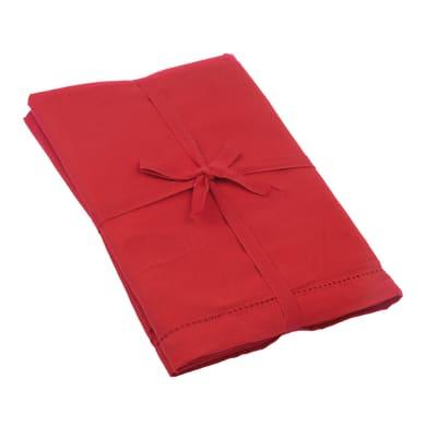 Tovaglia Greta rosso 140x180 cm