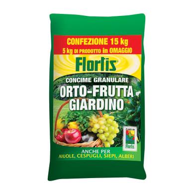 Concime granulare Orto Frutta 15 kg