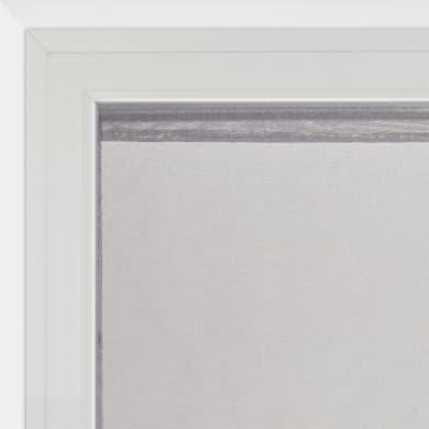 Tendina vetro Shali grigio scuro tunnel 60 x 110 cm