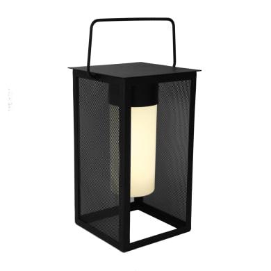 Lampada da esterno Meshy H26.7cm, in plastica, luce bianco caldo, LED integrato IP44 INSPIRE