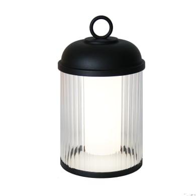 Lampada da esterno Canari H27cm, in plastica, luce bianco caldo, LED integrato IP44 INSPIRE