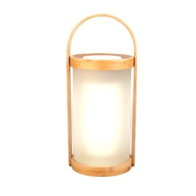 Lampada da esterno Cardea H32cm, in plastica, luce bianco caldo, LED integrato IP44 INSPIRE
