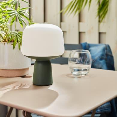 Lampada da esterno Nomad Luno H 20 cm, luce bianco caldo , LED integrato IP44 INSPIRE