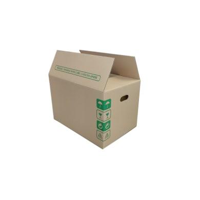Set di 5 pezzi, Scatola da imballaggio 2 onde H 33 x L 50 x P 34 cm