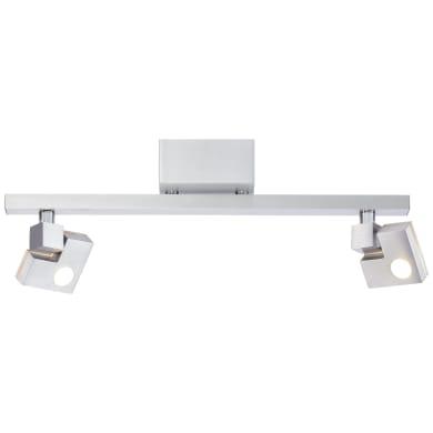 Barra di faretti 90 Degree LED 3,6W DE 2+3-Step-DIM alluminio, in metallo, LED integrato 7.2W IP20 BRILLIANT