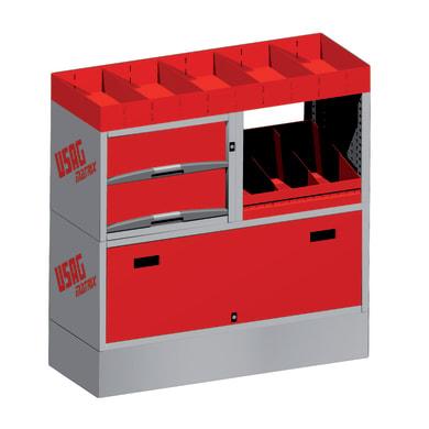 Cassetta attrezzi L 99 x H 102 cm, profondità 380 mm