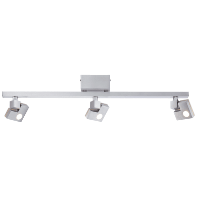 Barra di faretti 90 Degree LED 3,6W DE 3+3-Step-DIM alluminio, in metallo, LED integrato 10.8W IP20 BRILLIANT
