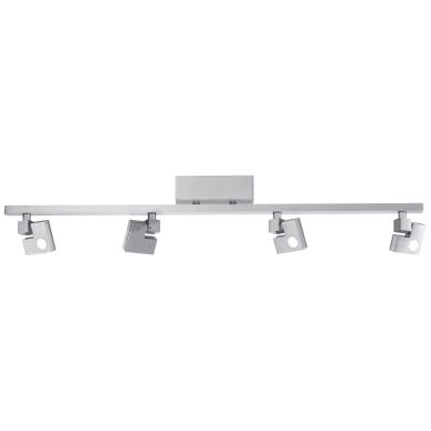 Barra di faretti 90 Degree LED 3,6W DE 4+3-Step-DIM alluminio, in metallo, LED integrato 14.4W IP20 BRILLIANT