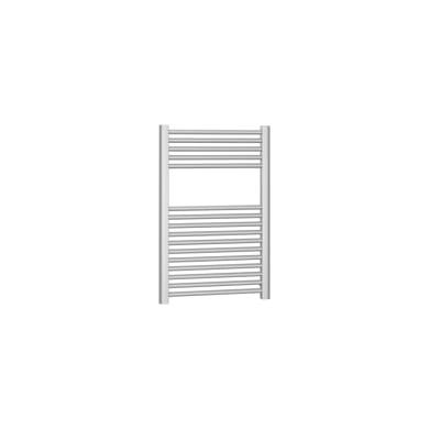 Termoarredo grigio argento goffrato interasse 45 cm x H 77 cm