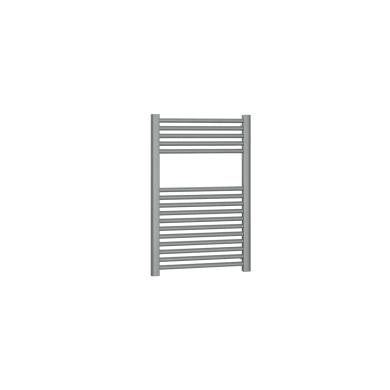 Termoarredo grigio titanio goffrato interasse 45 cm x H 77 cm