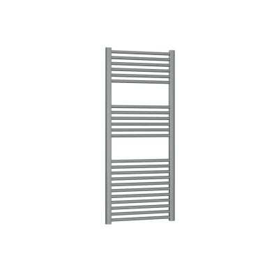 Termoarredo grigio titanio goffrato interasse 45 cm x H 120 cm