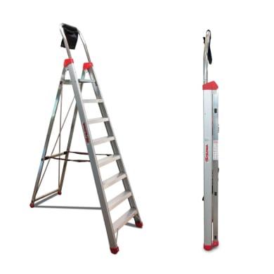 Scala FARAONE in alluminio 7 gradini per lavori fino a 3.33 m