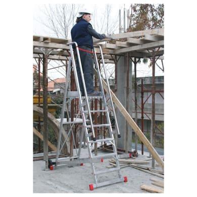 Scala FARAONE in alluminio 7 gradini per lavori fino a 3.64 m