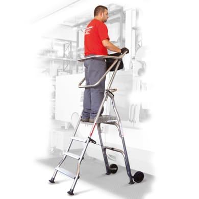 Trabattello in alluminio per lavori fino a 3 m