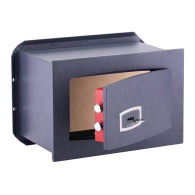 Cassaforte a chiave TECHNOMAX RS/0 da murare L26 x P15 x H18 cm