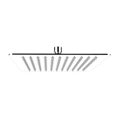 Soffione doccia Fani 25 25 x 25 cm in inox cromato SENSEA