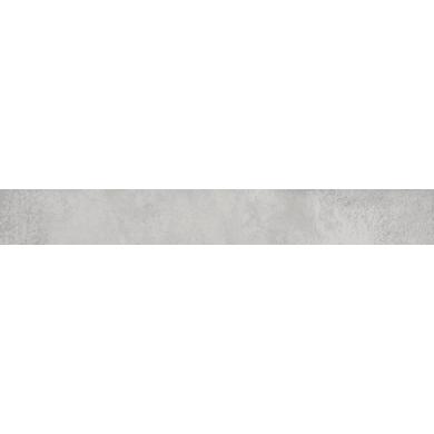Battiscopa Metal Zinco H 7 x L 60 cm grigio