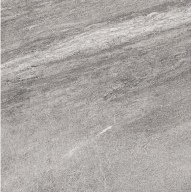 Piastrella Pierre de Vals Val gris 25.2 x 25.2 cm sp. 9.2 mm PEI 4/5 grigio