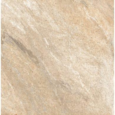 Piastrella Pierre de Vals Vrin beige 25.2 x 25.2 cm sp. 9.2 mm PEI 4/5 beige