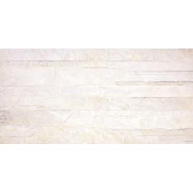 Piastrella Pierre de Vals Muretto Laax almond 25.2 x 50.5 cm sp. 9.2 mm PEI 4/5 bianco