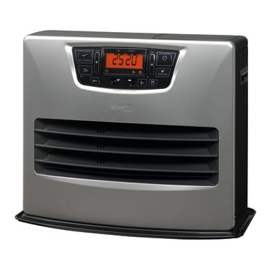 Stufa a petrolio ZIBRO LC 150 elettronico 4.85 kW grigio / argento e nero