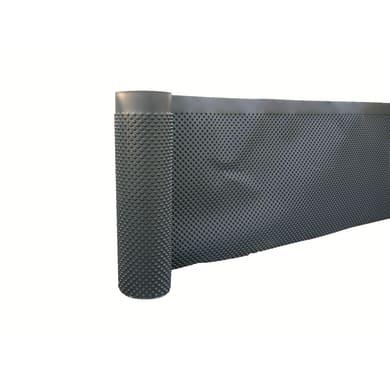 Membrana Hdpe 1 m x 20 cm nero