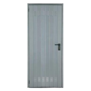 Porta per cantina lamiera L 72 x H 200 cm