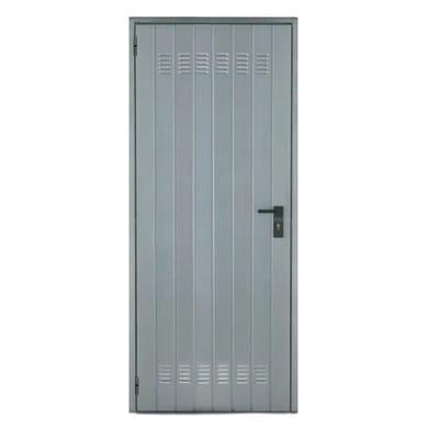 Porta per cantina lamiera L 92 x H 200 cm